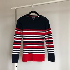 Tommy Hilfiger | Nautical Striped Tight Sweater